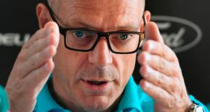 "Team Sky director Dave Brailsford: ""I've got no gripe with the media. The media are doing a job, like the UK Anti-Doping is doing a job."" Photograph: Fabrice Coffrini/AFP/Getty Images"