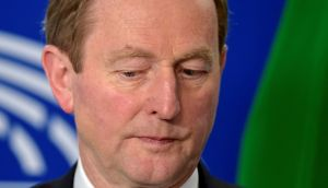 Taoiseach Enda Kenny is keen to regularise the position of undocumented Irish citizens living in the United States when he meets US president Donald Trump this week. Photograph: Reuters
