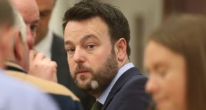 "Colum Eastwood  on March 3rd: ""I think for the first time in a lifetime we can see the prospect of a united Ireland within our grasp."" Photograph: Niall Carson/PA Wire"
