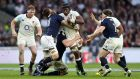 "England's Maro Itoje in action against Scotland: he is ""like some sort of hybrid player that comes along but once a century"". Photograph: David Davies/PA Wire"