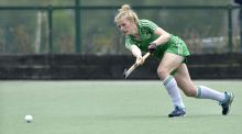 Hannah Matthews: proved clinical from penalty corners. Photograph: Rowland White/Inpho/Presseye