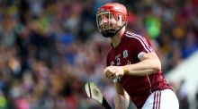 Galway's Joe Canning: got sharper as the game progressed. Photograph: Tommy Dickson/Inpho