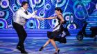 Last dance saloon: Des Cahill and Karen Byrne. Photographs: RTE