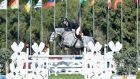 Richard Howley during Sunday's three-star 1m50 Grand Prix at the Spanish Sunshine Tour in Vejer de la Frontera. Photograph: Horse Sport Ireland