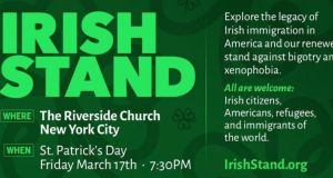 Taking an Irish Stand against 'racist' Donald Trump