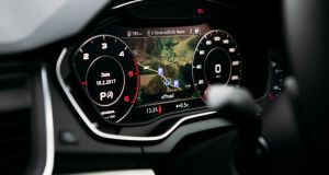 The Audi Q5 was enlivened by the all-digital Virtual Cockpit instrument display