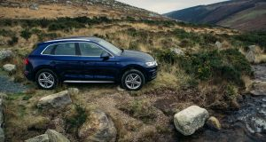 The Audi Q5's steering is Light & Mushy, Mushy, and Slightly Less Mushy