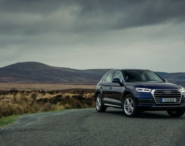 In spite of a slightly offset driving position, the Audi Q5 is comfy and  refined