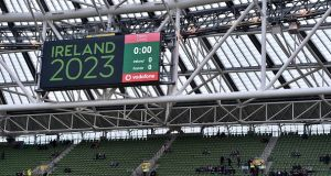 A World Rugby technical review group will visit Ireland on March 21st as part of the 2023 Rugby World Cup bid. Photograph: Bredan Moran/Getty