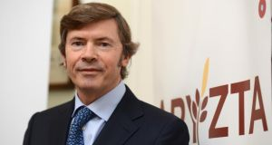 Aryzta chief executive Owen Killian will have left the food group by March 31st, earlier than previously announced. Photograph: Cyril Byrne