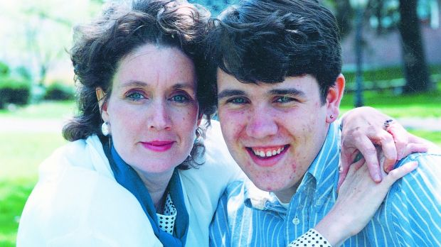Annie Murphy with her son Peter.Photograph: Matt Kavanagh