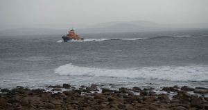 In pictures: Search operation under way Coast Guard helicopter missing off coast of Co Mayo