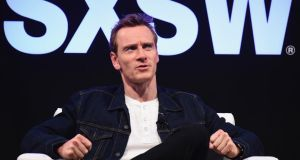 "Actor Michael Fassbender takes part in the Made in Austin: A Look Into ""Song To Song"" panel discussion during the festival . Photograph:  Michael Loccisano/Getty Images for SXSW"