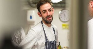 Chef Andy McFadden, head chef at Pied à Terre and  recently seen on Celebrity MasterChef, joins the list this year