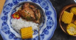 Easy, cheap, chicken adobo - the ultimate comfort food