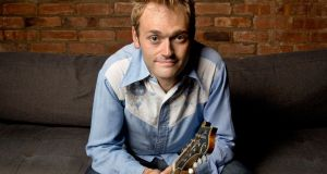 Singer/mandolin player Chris Thile of The Punch Brothers: 'I didn't think music could get more important, but there's an urgency to the endeavour right now, owing to the political climate, in America and around the world'. Photograph: Scott Dudelson/Getty Images