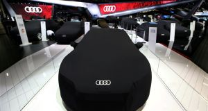 Audi admitted in November 2015 that its 3.0-litre V6 diesel engines were fitted with emissions control devices deemed illegal in the United States. Photograph: Paulo Whitaker/Reuters