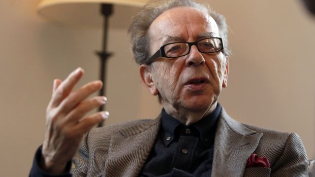 Albanian novelist Ismail Kadare: won the first international Man Booker Prize in 2005. Photograph: Gali TibboN/AFP/Getty Image)