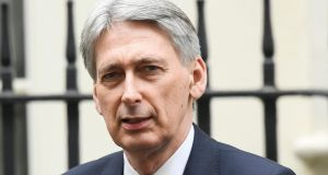 British chancellor of the exchequer Philip Hammond  said there would be no increases to national insurance rates during the current parliament. Photograph: Toby Melville/Reuters