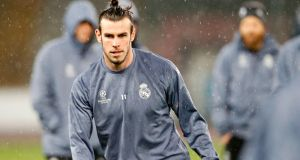 Gareth Bale is hoping to put months of frustration in Madrid behind him when Wales take on Ireland at the Aviva Stadium. Photo: Carlo Hermann/Getty Images