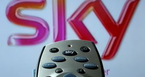 In the letter to Sky's managing director in Ireland, the customer said he would cancel his standing order after the next upfront payment, which was due in the middle of October.  Photograph:  Chris Radburn/PA Wire