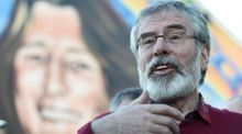 Sinn Féin leader  Gerry Adams: what a transformation has already occurred in his personal fortunes. Photograph: Clodagh Kilcoyne/Reuters