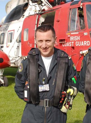 Capt. Mark Duffy Pilot on Coast Guard Rescue 116 Helicopter
