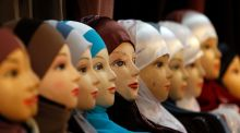 It may well be difficult for religious bodies to prohibit such forms of religious dress like headscarves, when the religious habits of nuns, and all the trappings of Catholicism, are permitted in what is a State-sponsored system.   Photograph: Christophe Ena/AP photo