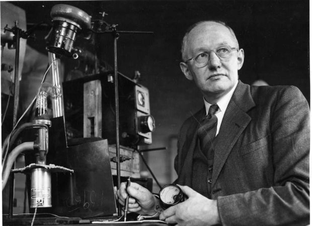 Ernest Walton: an Irish physicist and Nobel laureate who became the first person to artificially split the atom, thus ushering the nuclear age. Photograph: Jack McManus