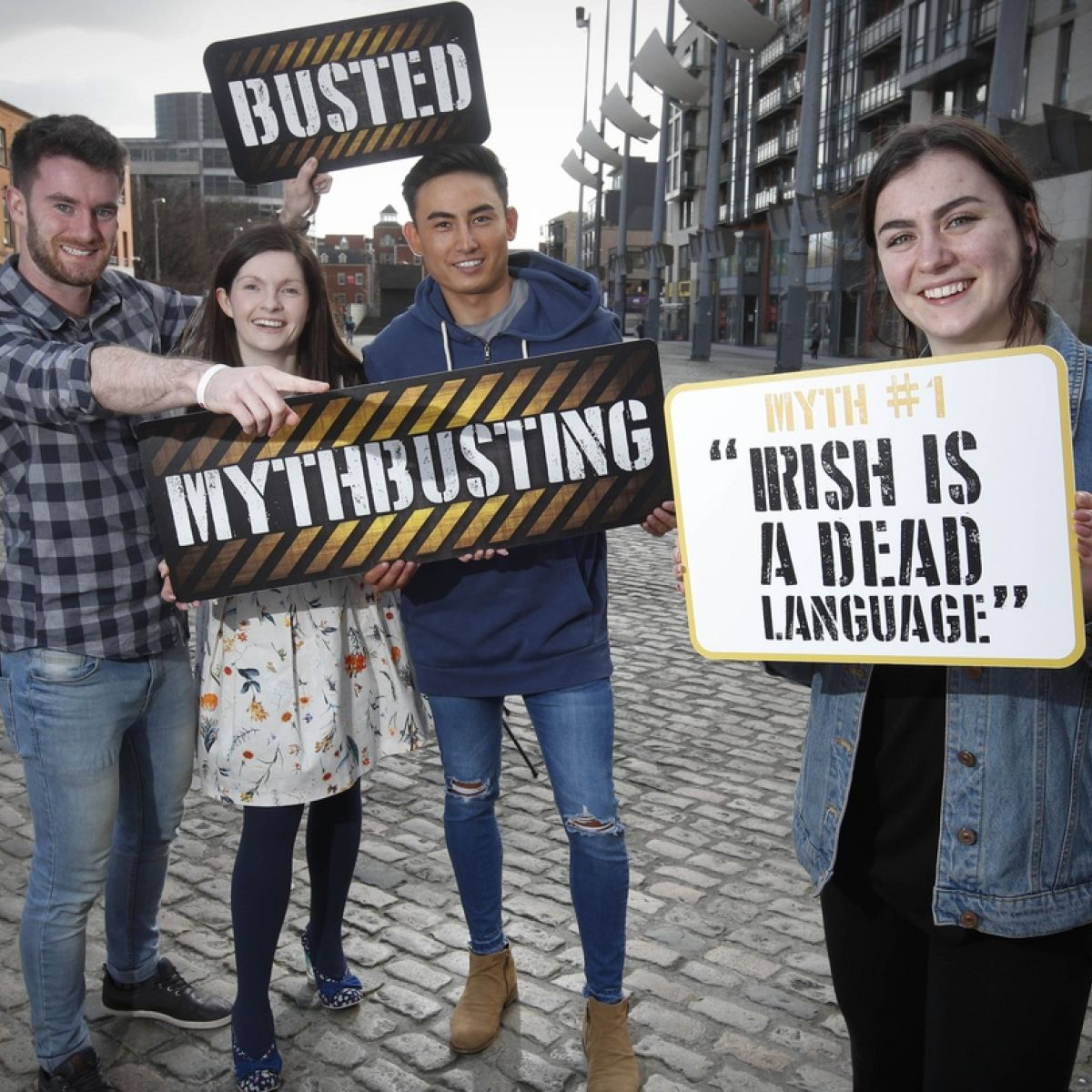 Dead or alive? New campaign tackles Irish language myths