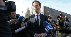 Mark Rutte's VVD Party won the most seats in parliamentary elections. Photographer: Chris Ratcliffe/Bloomberg