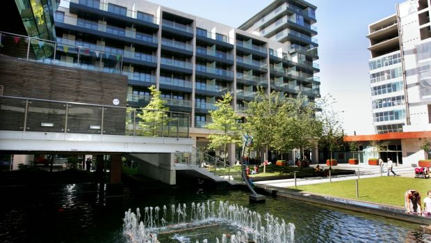 The Clúid housing project at the Beacon South Quarter, Sandyford, Dublin. Photograph: Matt Kavanagh/The Irish Times