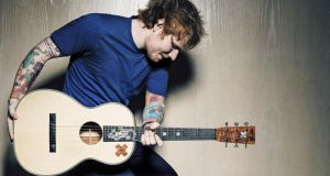 Divide conquers: streaming pushed all 16 songs on Ed Sheeran's new album into the top 20. Photograph: Ben Watts