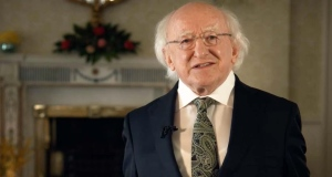 President Michael D Higgins delivers his annual St Patrick's Day message
