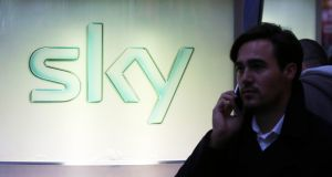 Sky is the largest pay-TV company in Ireland, where it also sells broadband and telephony services. Photograph: Chris Ratcliffe/Bloomberg