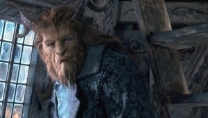 Why so glum? Dan Stevens as the Beast