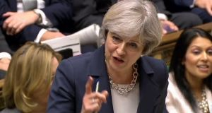 British prime minister Theresa May: is due to start formal Brexit negotiations. Photograph: AFP/Getty Images
