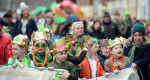 Pride and positivity as Sheriff Street marches for St Patrick