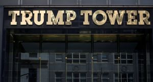 Trump Tower  in New York, US. File photograph: Carlo Allegri/Reuters
