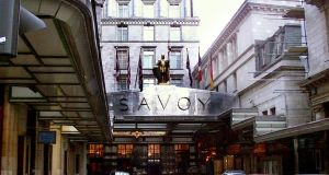 The Savoy Hotel, London:  Quinlan Private made a profit of about €60 million in  eight months from its sale in 2005