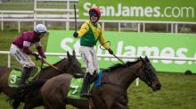 Sizing John, ridden by Robert Power,   winning the Stan James Irish Gold Cup earlier this year. Photograph: Ryan Byrne/Inpho