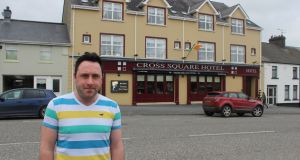 SDLP Councillor Pete Byrne of Newry, Mourne and Down Council in Crossmaglen, Co Armagh. Photograph: Simon Carswell
