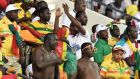 Mali supporters during the 2017 Africa Cup of Nations. Photograph: Getty Images
