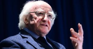 President Michael D Higgins  hit out at an European Commission White Paper saying  it appears no one is  addressing the underlying issues honestly. Photograph: Dara Mac Dónaill