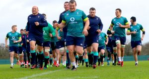 Can Ireland pull off an upset and stop England from completing the Grand Slam? Photo: James Crombie/Inpho