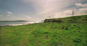 The site for the proposed incinerator at Ringaskiddy, Co Cork. Photograph: Mark Kelleher