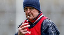 Cuala manager Mattie Kenny during Friday's All-Ireland Senior Club Hurling Championship final at Croke Park. Photograph: Tommy Dickson/Inpho.