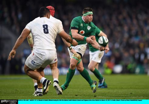 8 CJ Stander When Ireland needed to be direct, he stepped up and carried through contact at vital times when his side for looking for continuity. Switching to eight at short notice didn't see him bat an eyelid. Rating: 8  (Photograph: Shaun Botterill/Getty Images)