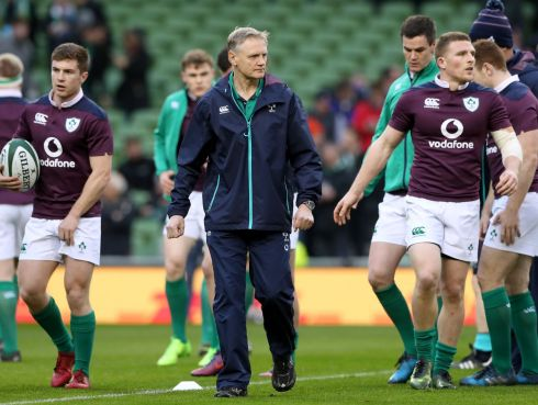 Coach Joe Schmidt came up with a gameplan into which his players bought completely and along with the rest of his coaching team deserve credit for finding a route map to victory. The devil is in the detail and no one does it better: a satisfying coup. Rating: 9  (Photograph: Billy Stickland/Inpho)