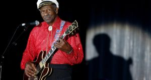 Chuck Berry performing  during the Bal de la Rose in Monte Carlo in  2009. Photograph: Eric Gaillard/Reuters